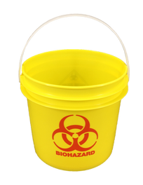 1 Imp Gal Biohazard Autoclavable Sharps Container
